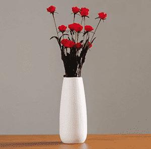 Vase en céramique Blanche