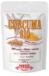 curcuma bio poudre