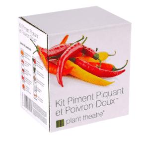 Kit Piment Piquant et Poivron Doux