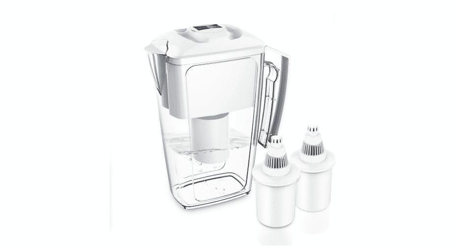 Pichet filtre à eau alcaline