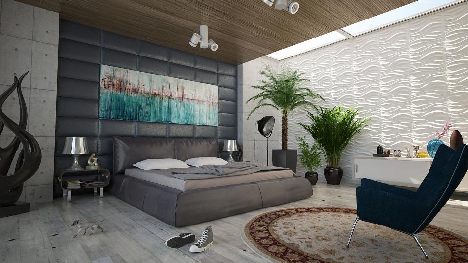 Déco plante intérieur pour la chambre à coucher