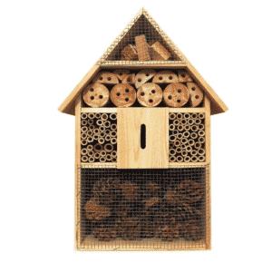 Hôtel à insecte XXl en Bois naturel