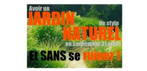 créer un jardin naturel