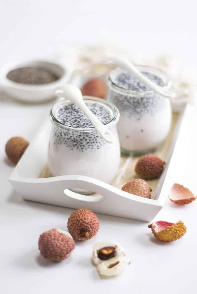 yaourt litchi