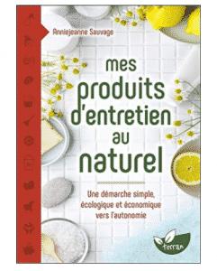 Mes produits d'entretien au naturel
