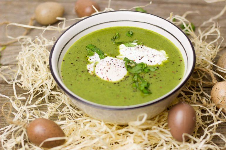 soupe de cosses de fève