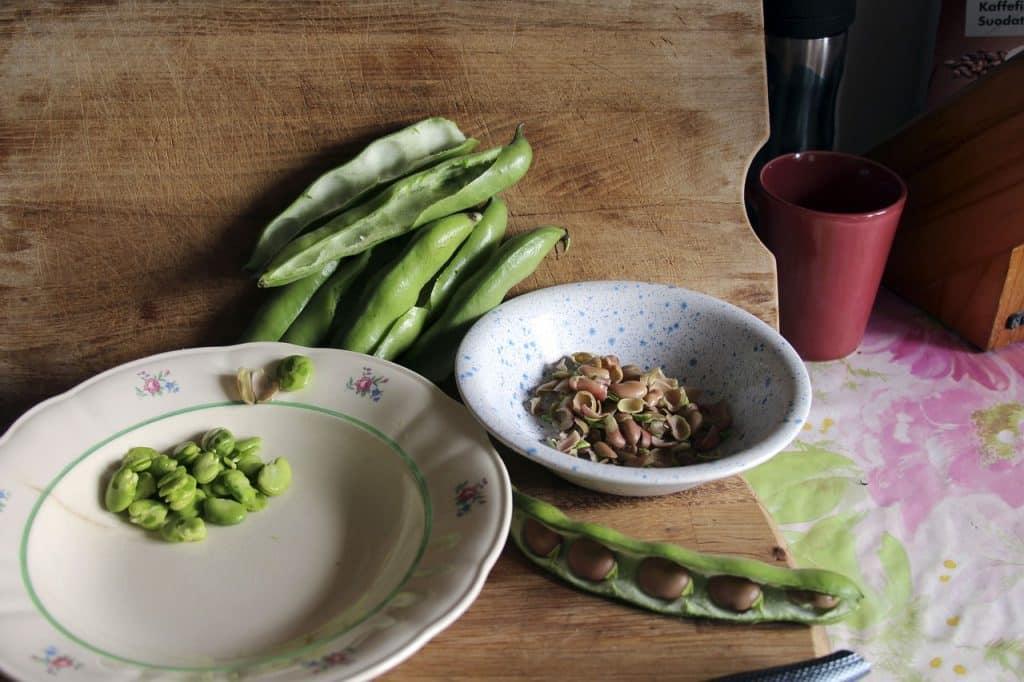 soupe cosses de fèves