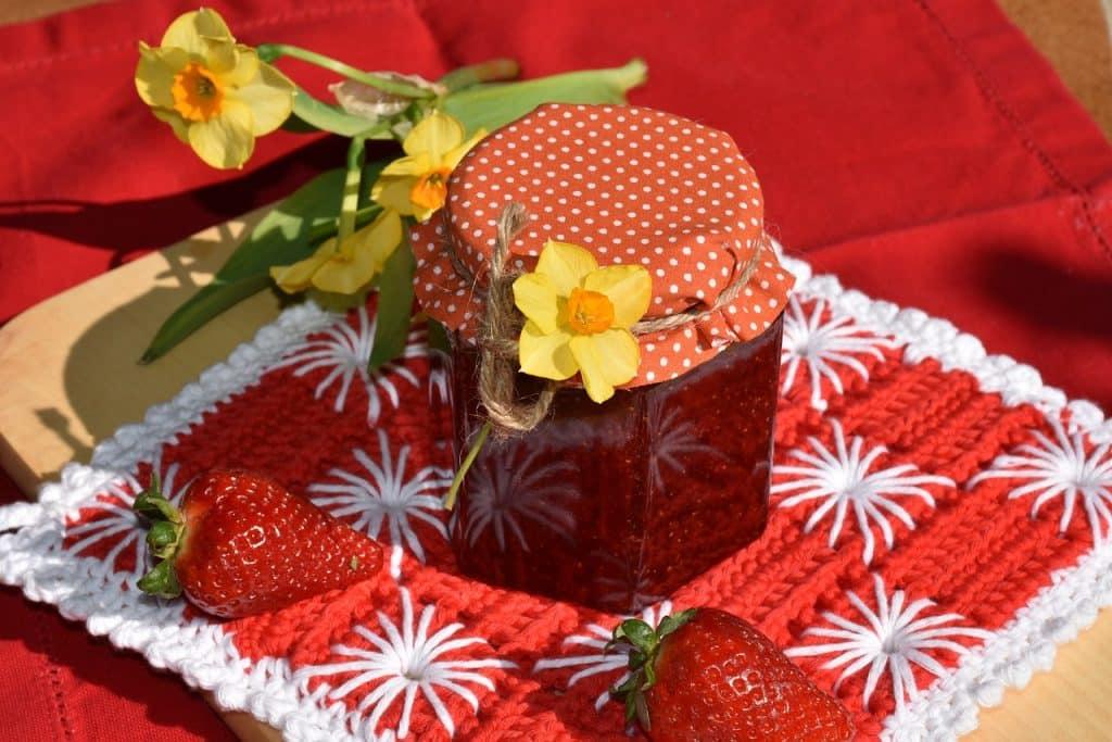 dessert fraise