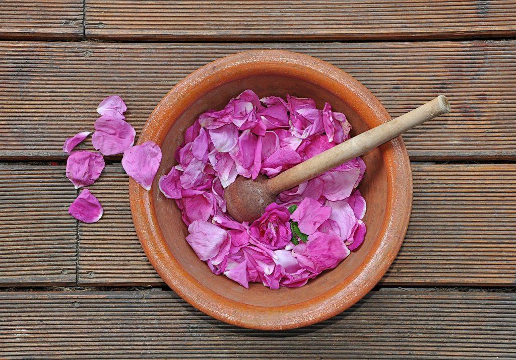 confiture pétales roses
