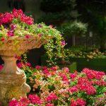 Jardin vacances