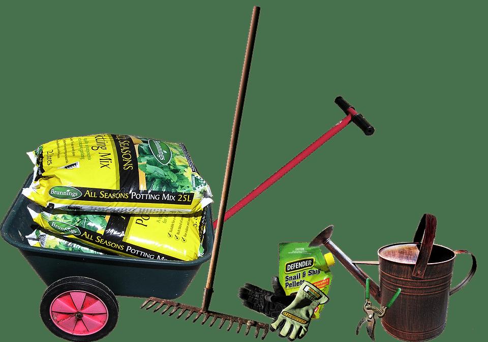 équipement du jardinier