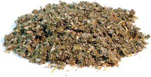 feuilles de framboisiers